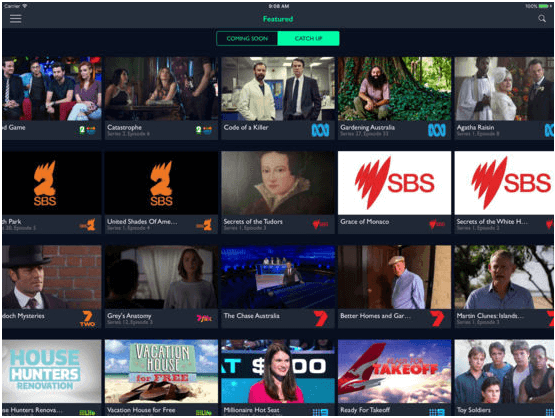 Freeview FV App- How to watch live streaming of 19 channels of Australia