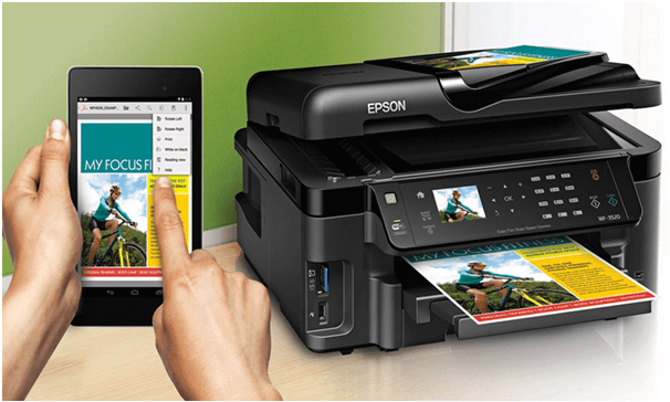 How to take a print out from Mobile
