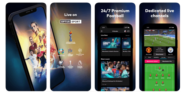 How to watch live sports on my mobile?