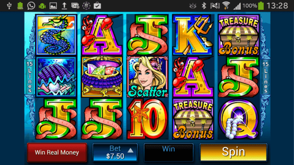 slots games   mermaids millions